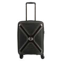 Titan Paradoxx 4 Wheel Cabin Trolley S Black Uni