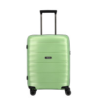 Titan Highlight 4 Wheel Handbagage Trolley S Green Metallic