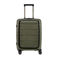 Titan Highlight 4 Wheel Business Trolley S Front Pocket Khaki