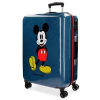 Disney Trolley 68 Cm 4 Wheels Mickey Blue