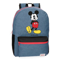 Disney Backpack M Mickey Blue