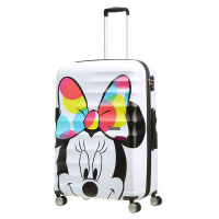 American Tourister Wavebreaker Disney Spinner 77 Minnie Close-Up