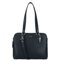 LouLou Essentiels Robuste Handtas Silver Black