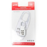 Line Travel Accessories Cijferslot Silver