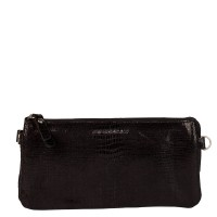 Burkely Lizard Mini Bag Schoudertas Black 871080