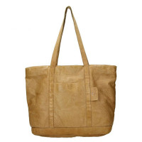 MicMacbags Phoenix Shopper Schoudertas Zand 16556