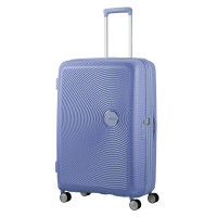 American Tourister Soundbox Spinner 77 Exp. Denim Blue