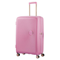 American Tourister Soundbox Spinner 77 Exp. Pearl/Pink Gold