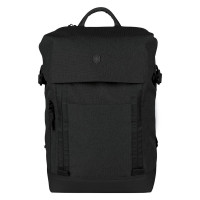 Victorinox Altmont Classic Deluxe Flapover Laptop Backpack Black