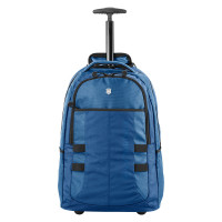 "Victorinox Vx Sport Wheeled Cadet Trolley Backpack 16"" Blue"