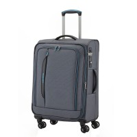 Travelite CrossLite 4 Wheel Trolley M Exp. Anthracite