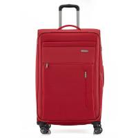 Travelite Capri 4 Wheel Trolley L Expandable Red