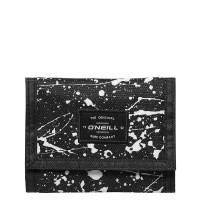 O'Neill BM Wallet Portemonnee Black AOP/ White