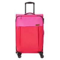 Travelite Neopak 4 Wheel Trolley M Red/Pink
