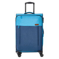 Travelite Neopak 4 Wheel Trolley M Navy/Blue