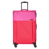 Travelite Neopak 4 Wheel Trolley L Red/Pink
