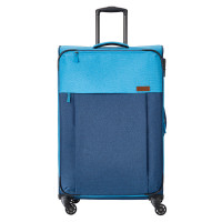 Travelite Neopak 4 Wheel Trolley L Navy/Blue