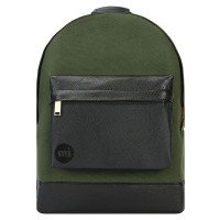 Mi-Pac Gold Rugzak Canvas Tumbled Deep Green/Black