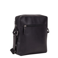 Leonhard Heyden Dakota Messenger Bag XS Black 7485