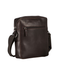 Leonhard Heyden Dakota Messenger Bag XS Brown 7485