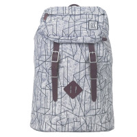 The Pack Society The Premium Rugzak Geometric Marble