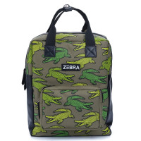 Zebra Trends Boys Rugzak L Croco