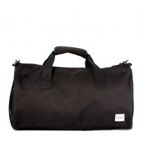 Spiral Duffel Bags Black Out