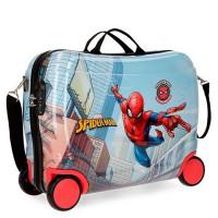 Disney Rolling Suitcase 4 Wheels Spiderman Grafitti