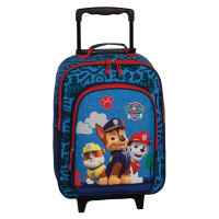 Nickelodeon Soft Trolley 42 Cm 2 Wheels Paw Patrol Blauw
