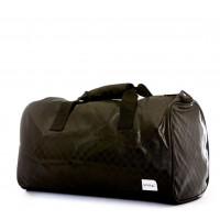 Spiral Duffel Bags Black Chequerboard