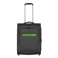 Travelite Madeira Upright 2 Wiel Trolley S Antracite/Green