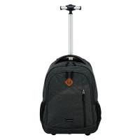 Travelite Basics Trolley Backpack Melange Anthracite