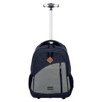 Travelite Basics Trolley Backpack Melange Navy