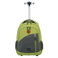 Travelite Basics Trolley Backpack Melange Green