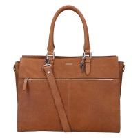 "LouLou Essentiels Robuste Laptoptas 13"" Silver Cognac"