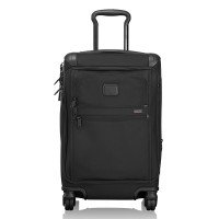 Tumi Alpha 2 Travel International Front Lid 4-Wheel Carry-On Black