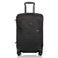 Tumi Alpha 2 International 4-Wheel Office Carry-On Black