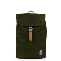The Pack Society The Small Backpack Solid Forest Green