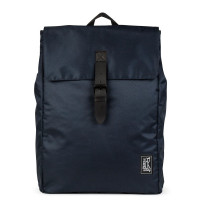 The Pack Society The Square Backpack Rugzak Solid Dark Blue