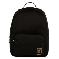 The Pack Society The Classics Rugzak Recycled Black Fabric