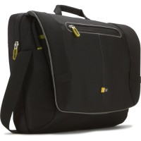 "Case Logic PNM217 17"" Laptop Messenger Bag Black"