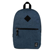 The Pack Society Commuter Rugzak Light Blue Duo Tone