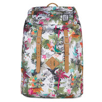 The Pack Society The Premium Rugzak Multicolor Jungle Allover