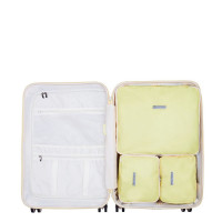 SuitSuit Fabulous Fifties Packing Cube Set Medium 66 cm Mango Cream
