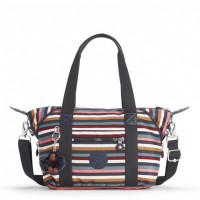 Kipling Art Mini Handtas Multi Stripes Block