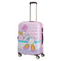 American Tourister Wavebreaker Disney Spinner 67 Daisy Pink Kiss