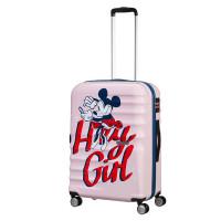 American Tourister Wavebreaker Disney Spinner 67 Minnie Darling Pink