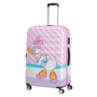 American Tourister Wavebreaker Disney Spinner 77 Daisy Pink Kiss