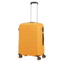 American Tourister Wavetwister Spinner 66 Sunset Yellow