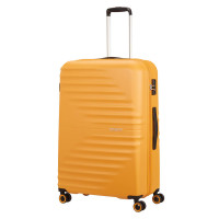 American Tourister Wavetwister Spinner 77 Sunset Yellow